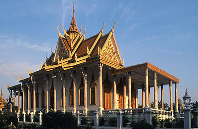 The Royal Palace and Silver Pagoda