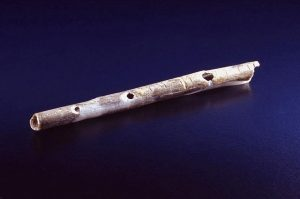 40000-yr-old-bird-bone-flute-recently-found-in-German-cave-system-300x199 Fire - and the dawn of creativity