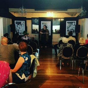 Maggie-Covell-gives-a-public-talk-about-her-book-2-Dec-2017.-Monarch-Room-Princes-Gate-Hotel.-Photo-courtesy-of-subject-300x300 More than $25,000 funding available for new Rotorua arts initiatives