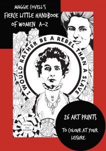 Maggie-Covells-Fierce-Little-Handbook-of-Women-A-Z-212x300 More than $25,000 funding available for new Rotorua arts initiatives
