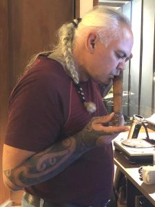 James-Webster-playing-taonga-puoro-for-Song-Cloud-Soundscape-e1561677260724-225x300 Rotorua hosting world premiere of Matariki light and sound installation